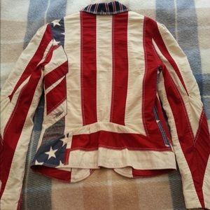 e25f5898e99 Tommy Hilfiger Jackets   Coats - Blazer Tommy Hilfiger American Flag Small  S Jacket